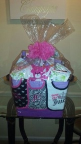 Baby Shower Gift Basket for Girl