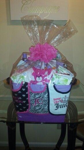 Baby Shower Gift Basket for Girl