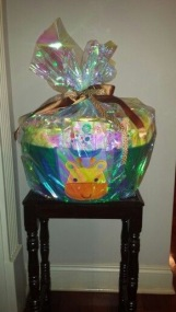 Baby Shower Gift Basket for Boy