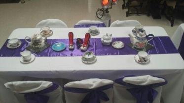 Table Decor for Spring Tea Party