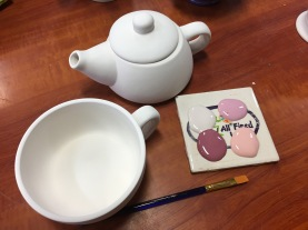 Pottery and Painting